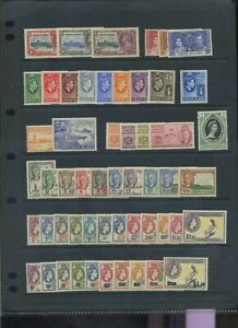 British Virgin Islands mid period MH  collection