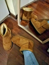 Stivaletti Simil Ugg Bassi Color Biscotto