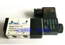 "3V210-08 3Way2 Position 1/4"" Port Airtac Pneumatic Air Solenoid Valve DC24V New"