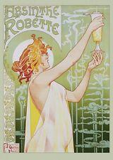 "Absinthe Robette vintage alchohol ad poster 24x36"""