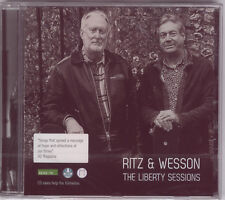 RITZ & WESSON:  THE LIBERTY SESSIONS – NEW SEALED CD (2017)
