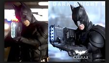 Rare NEW Hot Toys DX-12 Dark Knight 1/6 Bruce Wayne Batman LED Joker Brown BOX