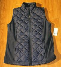 NWT Woman's Made for Life Navy Vest Size Small