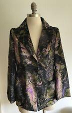 Rare Christian Lacroix Bazaar Velvet Trouser Suit, Jkt Size 42, Trousers 44 Eu