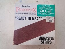 "New Performax Sanding Belts 60 Grit 60-5050 for 25"" drum"
