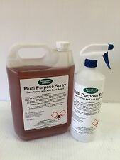 MULTI PURPOSE SPRAY  5 LITRE WITH SPRAY BOTTLE