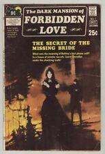 Dark Mansion of Forbidden Love #1 September 1971 VG- Giant Size