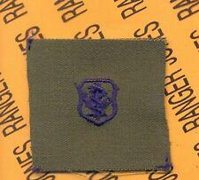 USAF Air Force Medical NURSE Qualification OD Green & Blue badge patch
