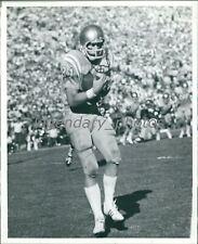 Circa 1974 Gene Bleymaier UCLA Tight End Catches Touchdown Original Press Photo