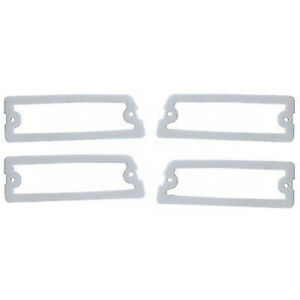 64 1964 Chevy Chevelle Rear Tail & Back Up Light Lamp Lens Gaskets Pad Seal Set