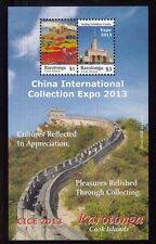 Cook Islands Rarotonga #1475 Souv. Blatt MNH China International Expo 2013 - 44
