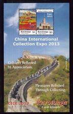 COOK ISLANDS Rarotonga #1475 Souv. Sheet MNH China International Expo 2013 - 44