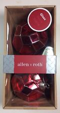 NEW NIB ALLEN ROTH PRISM CHRISTMAS ORNAMENT 0786072 Red