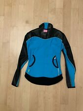 Assos Womens Long Sleeve Full Zip Blue Cycling Jacket Sz M