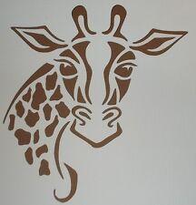 Scrapbooking - STENCILS TEMPLATES MASKS SHEET - Giraffe Stencil