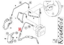 Genuine BMW E84 E90 E90N E91 E91N E92 E92N Front Brake Pipe OEM 34326853535