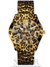 Relojes de pulsera fecha GUESS de acero inoxidable