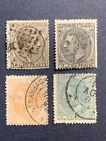 1878-82 SPAIN Postage Stamp , Mixed Lot, Used