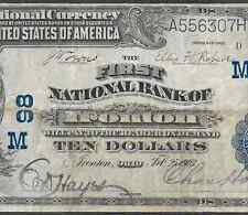 1902 $10 ❀❀IRONTON,OH❀❀   LOW CH#98