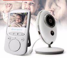 Wireless Video Baby Monitor Radio Nanny Music Intercom Portable LCD Audio Camera