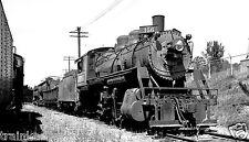 Spokane Portland & Seattle (SP&S) Steam #356 Black & White Print.