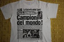 t-shirt GAZZETTA DELLO SPORT celebrativa MONDIALI 1982