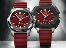 Victorinox INOX Red Dial Watch