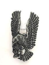 Eagle Scull Pin Biker Kutte Motorcycles Harley Chopper MC NEU+RAR Death Head