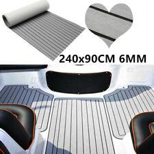 35X94'' Flooring Teak EVA Foam Boat Teak Decking Sheet Marine Faux 6mm Grey