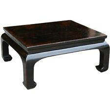Chinese Antique Black Coffee Table Original (13-054)