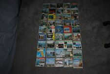 45 EARLY A NUMBER  VIEW MASTER PACKETS NO REELS PRESENT BUT ANY BOOKLETS SHOWN