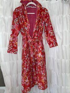 PIP STUDIO Bademantel Leaf me pink? Blumen Hausmantel Morgenmantel xxs XS S