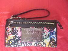 Coach Poppy Blossom  Wristlet Wallet