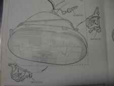 JAGUAR XJS HEADLAMP MOUNTING ADJUSTER USED AAU1312  AAU1313