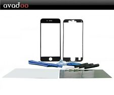 avadoo® Reparaturset iPhone 6 Plus Display Glas Klebepad Rahmen - Schwarz
