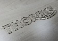 THORENS - 3D Emblem Sticker Badge - 140mm / 32mm - self adhesive