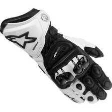 Gants noirs en cuir pour motocyclette taille XL