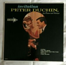 INVITATION PETER DUCHIN HIS PIANO AND STRINGS DL4471 LP