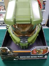 MATTEL TOYS HALO MASTER CHIEF ROLEPLAY TACTICAL HELMET BRAND NEW #ssept19-183