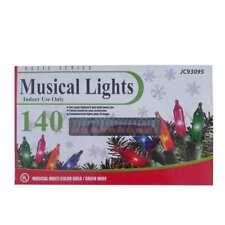 Basic Series Christmas Holiday Decoration Musical String Lights (Set of 140)