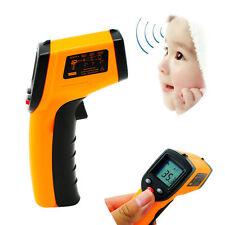 Laser Digital LCD IR Infrared Thermometer Heat Meter Temperature Measuring Gun