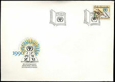 Czechoslovakia 1990 Literacy Year FDC First Day Cover #C38229
