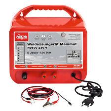 Weidezaungerät Mammut N9500 230V 5,0 Joule bis 5360 Volt Elektrozaun bis 120 km!