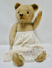 Sweet vintage mohair Hermann bear blond antique underskirt no Steiff