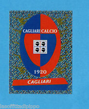 PANINI CALCIATORI 2000/2001- Figurina n.454- CAGLIARI - SCUDETTO/BADGE -NEW