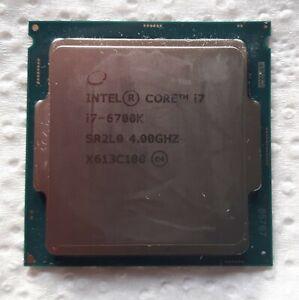 **Intel Core i7-6700K 6700K - 4GHz Processor**Fully Working