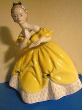 "Vitg 8"" tall Royal Doulton ""The Last Waltz"" Hn 2315 Figurine bone China England"