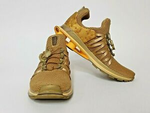 Nike Shox Gravity Shoe Sneaker Metallic Gold - AQ8554-700 Women's Sz 9.5