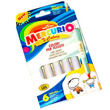 Mercurio Servicio de lavandería Tela Textil De Tela Camiseta marcador permanente pluma Color # 02872