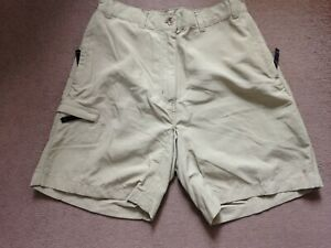 REGATTA LIGHT KHAKI GREEN LONG SHORTS OUTDOORS 12